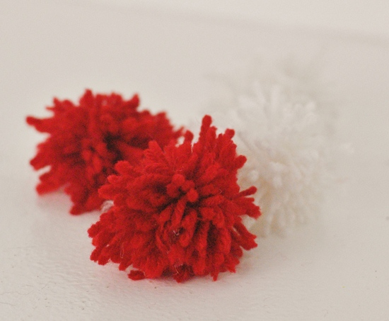 Pom Pom Monsters Kid Craft for Valentine's Day #craft www.InTheKitchenWithKP 3