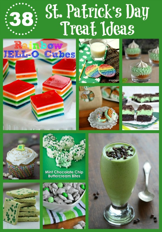 38 St. Patrick's Day Treat Ideas #recipe www.InTheKitchenWithKP