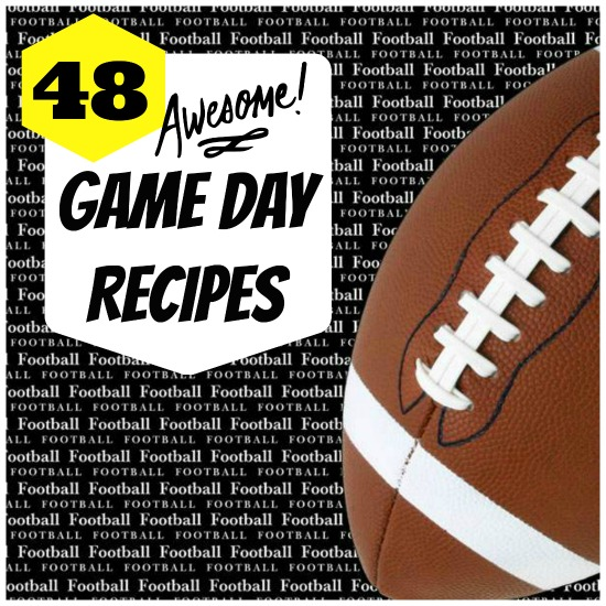 48 Game Day Recipes #recipe www.InTheKitchenWithKP