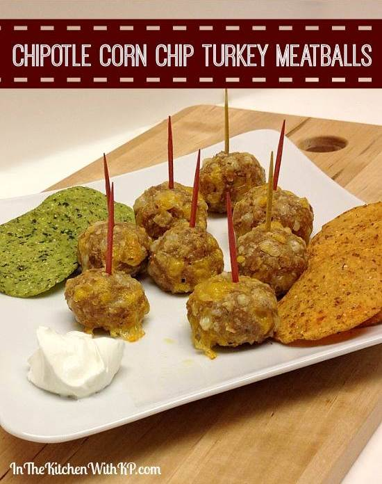 Chipotle-Corn-Chip-Turkey-Meatballs-recipe-www.InTheKitchenWithKP-2