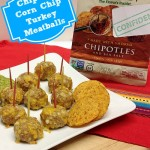 Chipotle Corn Chip Turkey Meatballs #recipe www.InTheKitchenWithKP 4