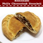 Homemade Philly Cheesesteak Stromboli Valentine's #SundaySupper for Two