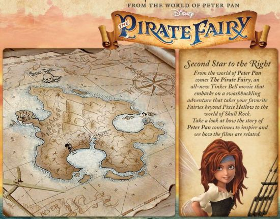 Disney's The Pirate Fairy www.InTheKitchenWithKP 1