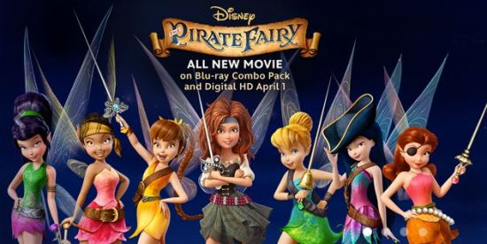 Disney's The Pirate Fairy www.InTheKitchenWithKP 2