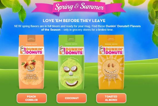 Dunkin Donuts Spring Seasonal Flavors #Contest #DunkinMugUp 2