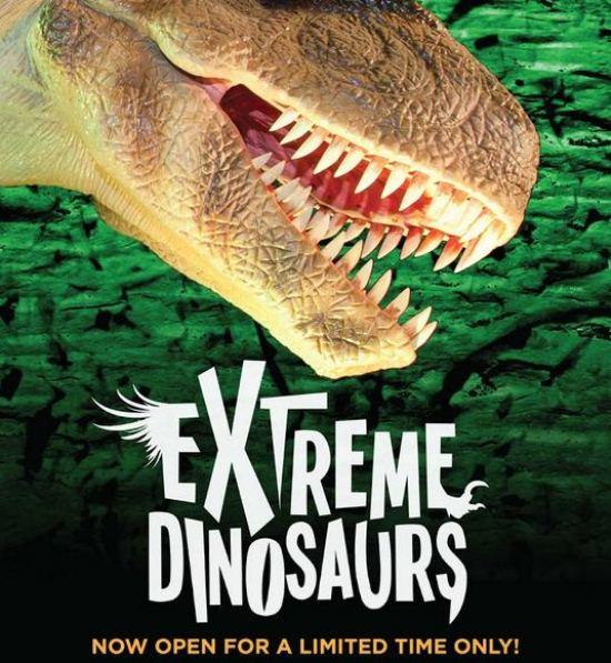 Extreme Dinosaurs Exhibit Opens Atlantic Station #ExtremeDinos www.InTheKitchenWithKP 2