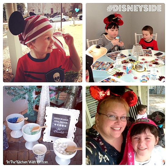 Partying With Friends and Showing Our #DisneySide www.InTheKitchenWithKP 1