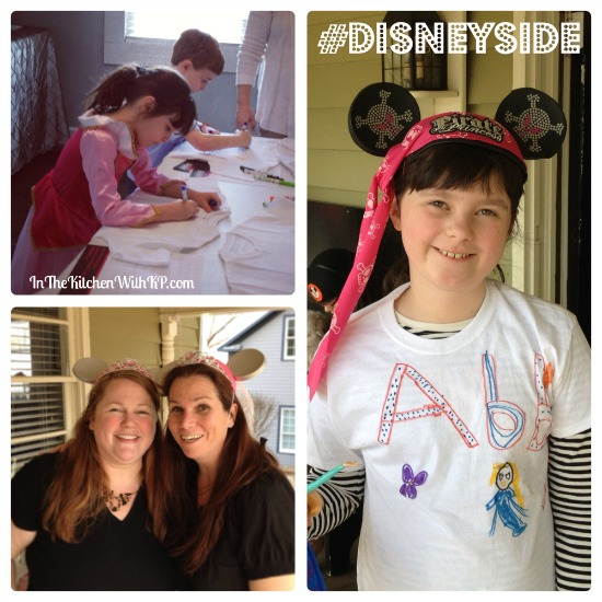 Partying With Friends and Showing Our #DisneySide www.InTheKitchenWithKP 2