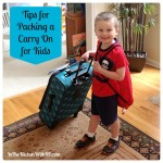 Tips for Packing a Carry On for Kids
