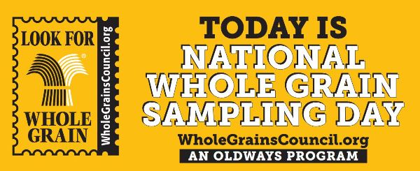 Whole Grain Sampling Day #SampleWholeGrains www.InTheKitchenWithKP 2
