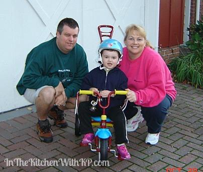3rd bday bike www.InTheKitchenWithKP