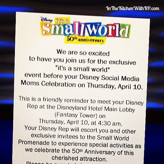 50th Anniversary of it's a small world in Disneyland Park #DisneySMMoms 1