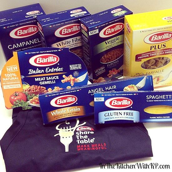 Meaningful Meals Barilla #ShareTheTable Movement #ad www.InTheKitchenWithKP 4