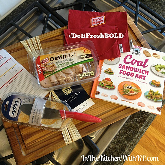 Toasted Tuscan Turkey Slider #DeliFreshBold 1