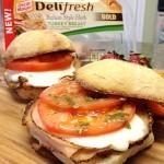 Toasted Tuscan Turkey Sliders with @oscarmayer #DeliFreshBOLD #spon