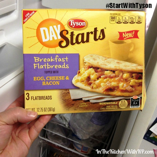 #ad Energize Your Day with a Tyson Day Starts High Protein Breakfast #StartWithTyson #shop 2