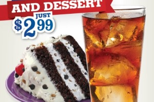 Add Cool Drinks and Sweet Treats to Meals for Only $2.99 at Piccadilly Restaurants @EatPiccadilly