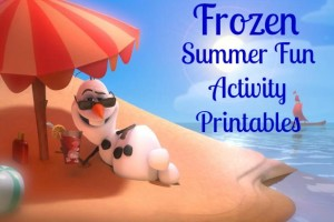 Disney's Frozen Activity Printables