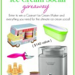 Win a Cuisinart Ice Cream Maker & More! Enter the Ultimate Ice Cream Social Giveaway