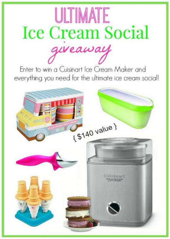 Ultimate Ice Cream Social #Giveaway www.InTheKitchenWithKP 1