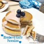 Blueberry Kefir Pancakes @lifeway_kefir #KefirCreations #shop