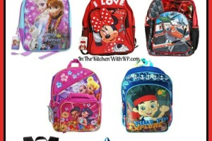 15 Disney Themed Backpacks for Back To School