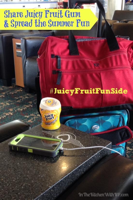 New Juicy Fruit Chewing Gum #JuicyFruitFunSide #shop www.InTheKitchenWithKP 3