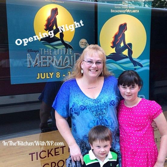 #TheLittleMermaid #BroadwayAtlanta www.InTheKitchenWithKP #familyfun 2
