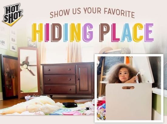 #HotShot Hiding Places #Sweepstakes www.InTheKitchenWithKP 1