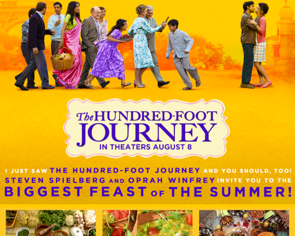 The Hundred-Foot Journey Movie Review www.InTheKitchenWithKP.com #movie #review slider