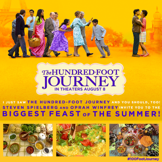 The Hundred-Foot Journey Movie Review www.InTheKitchenWithKP.com #movie #review