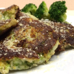 Broccoli and Parmesan Potato Pancakes #SimplyPotatoes #ad