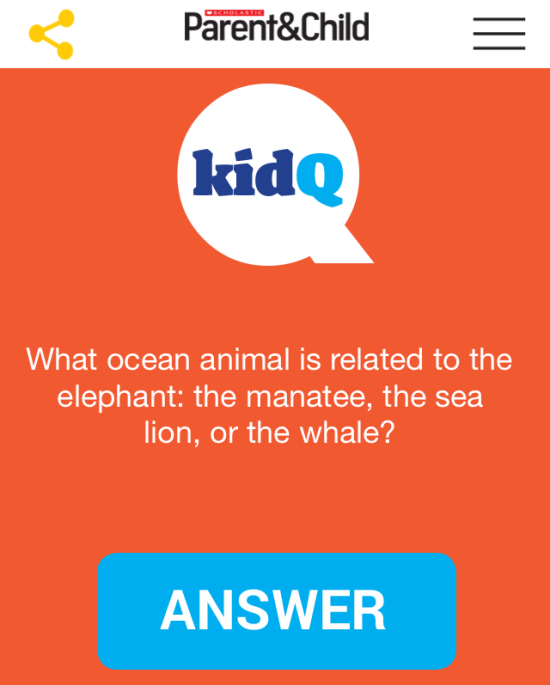 Connect Your family with Conversation With Scholastic Parent & Child KidQ app 1 www.InThekitchenWithKP Parenting Kids