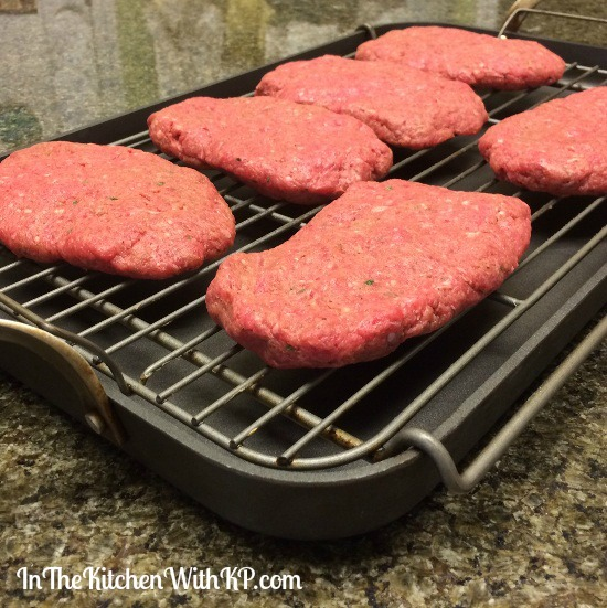 Smothered Hamburger Steak www.InTheKitchenWithKP #WeekdaySupper #recipe #beef 5