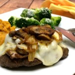 Smothered Hamburger Steak #WeekdaySupper