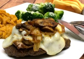 Smothered Hamburger Steak www.InTheKitchenWithKP #WeekdaySupper #recipe #beef slider