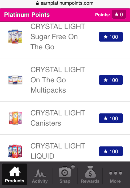 Crystal Light & Miranda Lambert Platinum Points Program www.InTheKitchenWithKP 2