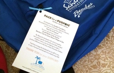 The Sandals Foundation Dedicated to being good neighbors #PackForAPurpose #BeachesMoms slider