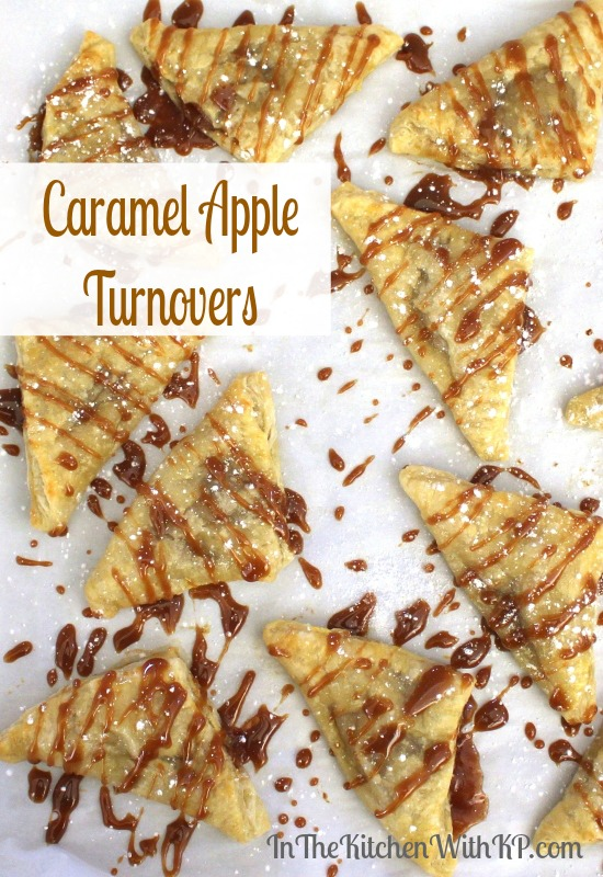 Caramel Apple Turnovers www.InTheKitchenWithKP Dessert Recipe 4