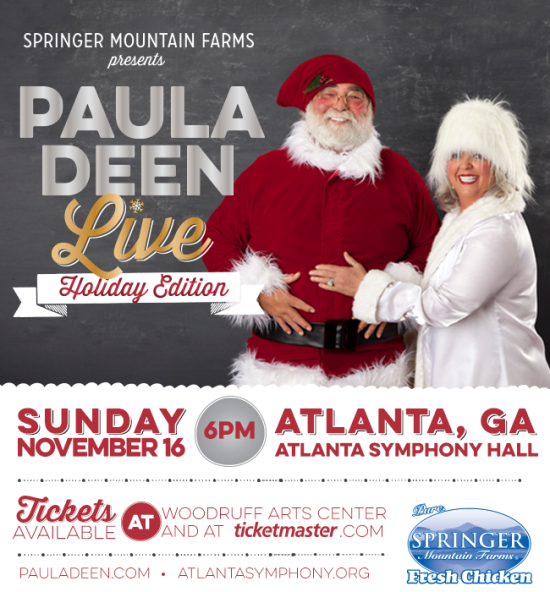 Paula Deen Live in Atlanta www.InTheKitchenWithKP Atlanta Attractions