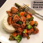 Simple Sesame Chicken Stir Fry with McCormick® Skillet Sauce #MCSkilletSauce