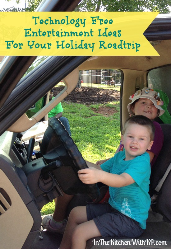 Technology Free Entertainment Ideas For Your Holiday Roadtrip www.InTheKitchenWithKP Family Travel