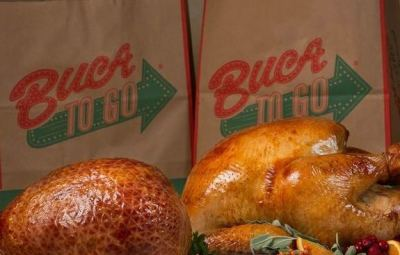 Thanksgiving Dinner is a Breeze with Buca di Beppo's Thanksgiving Feast To Go www.InTheKitchenWithKP slider