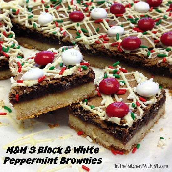 The Kitchen With KP White Chocolate Peppermint M&M'S® Cookie Bars ...