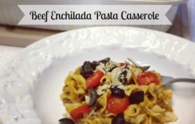 Beef-Enchilada-Pasta-Casserole-www.InTheKitchenWithKP Casserole Recipe slider