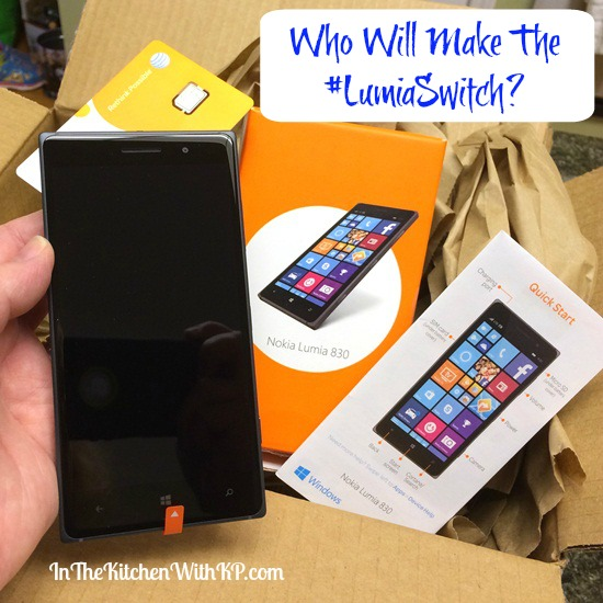#LumiaSwith Activation Project #TeamLuminaries | in The Kitchen With KP