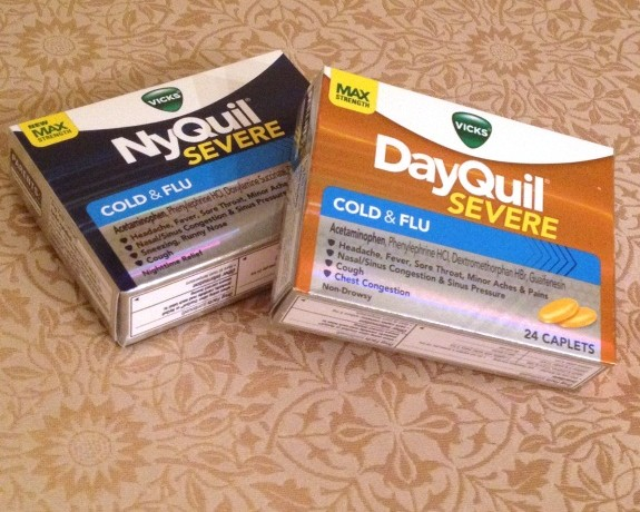Vicks DayQuil NyQuil Severe ad www.InTheKitchenWithKP Cold Flu Relief slider