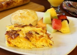 Bacon Egg and Cheese Hash Brown Casserole |Easy Brunch Recipe | In The Kitchen With KP