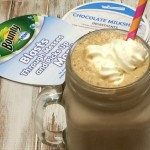 Chocolate Peanut Butter Milkshake With No Fuss Cleanup Thanks to @Bounty with Dawn