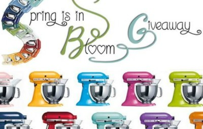 KitchenAid Mixer Giveaway | In The Kitchen With KP
